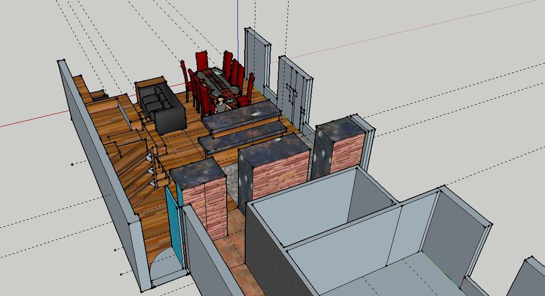 Interior Design House cut