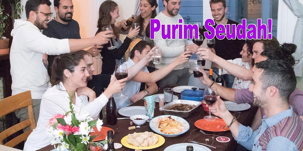 Purim Seudah K'Yad Ha'melech 10.3.20