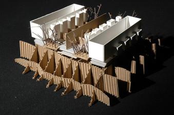 Architecture Salk Center Model 02