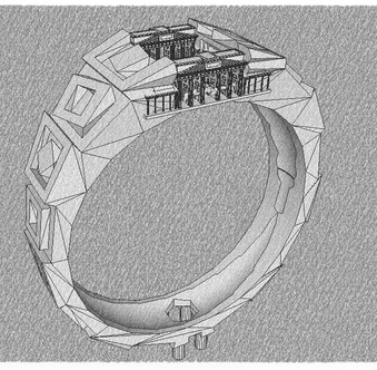 Jewelry City Void Ring