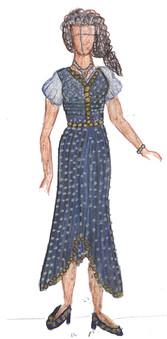 Fashion Mediterranean Dress