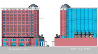 Architecture Hotel Fascade