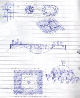 Urban Planning Courtyard City 02