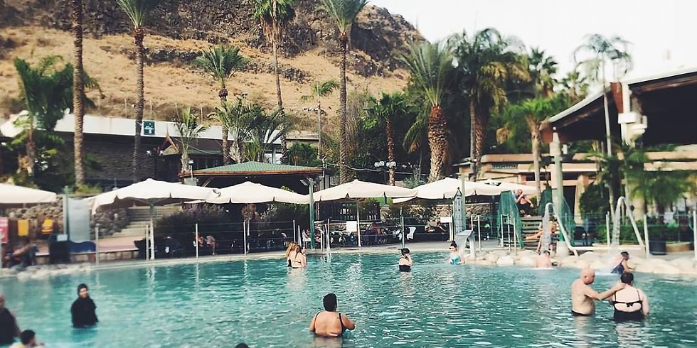 Master Campers 19 Hamat Gader Hot Springs