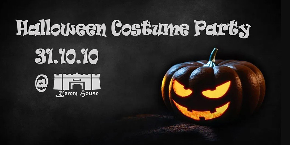 Halloween Costume Party at Kerem House