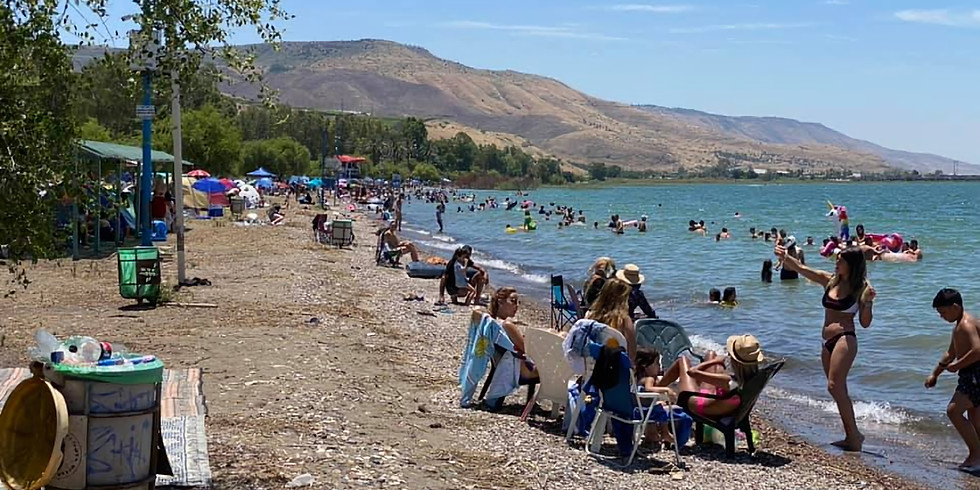 Master Campers 29 Kinneret Beach 1-2.10.21