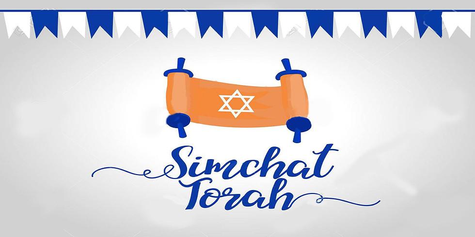 Simchat Torah at Kerem House