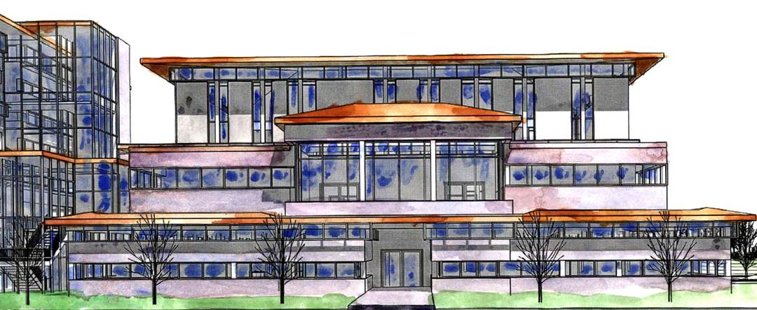 Architecture School Façade