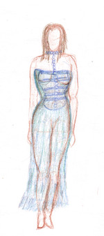 Fashion Sheer Dress