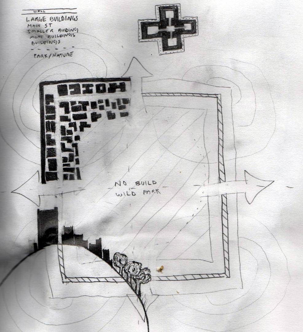 Urban Planning Courtyard City 03