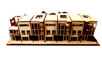 Architecture Row House 03