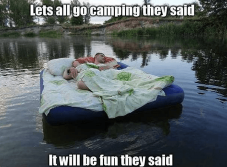 DIY - Do It Yourself - Camping in Israel