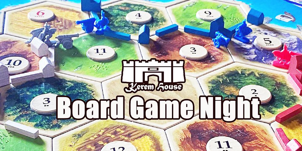 Board Game Night 10.08.21