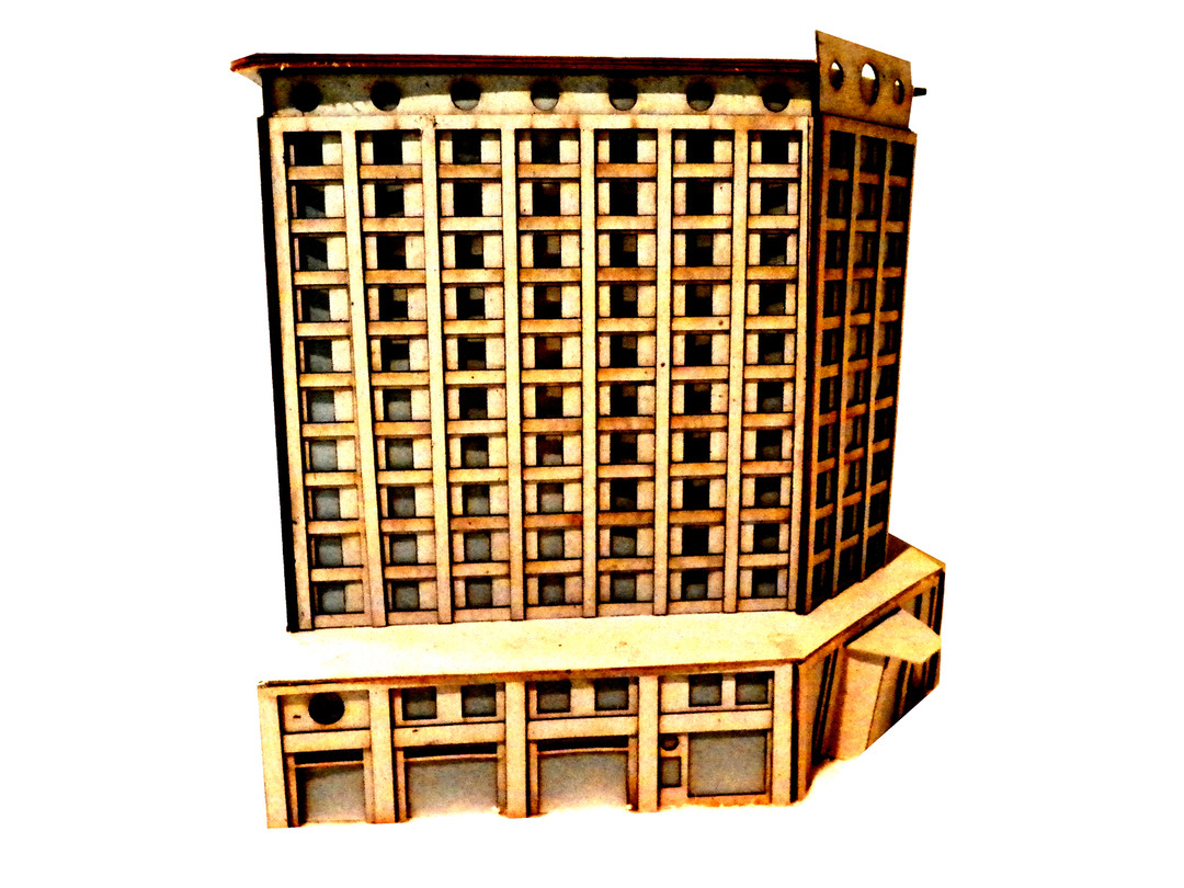 Architecture Hotel Model