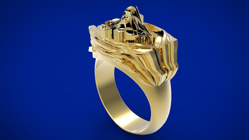 Jewelry Mountain City Ring