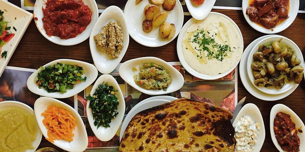 Shabbat dinner 21.5.21