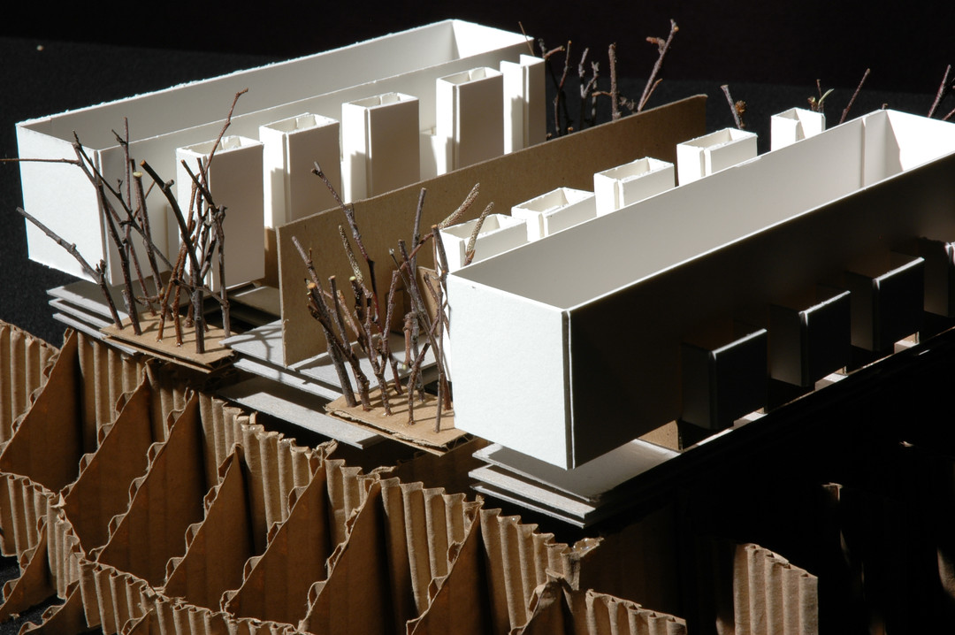 Architecture Salk Center Model Detail
