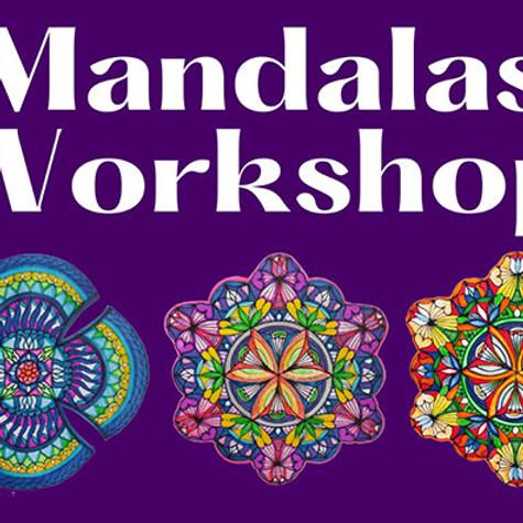 Mandalas workshop for beginners 10.8.21