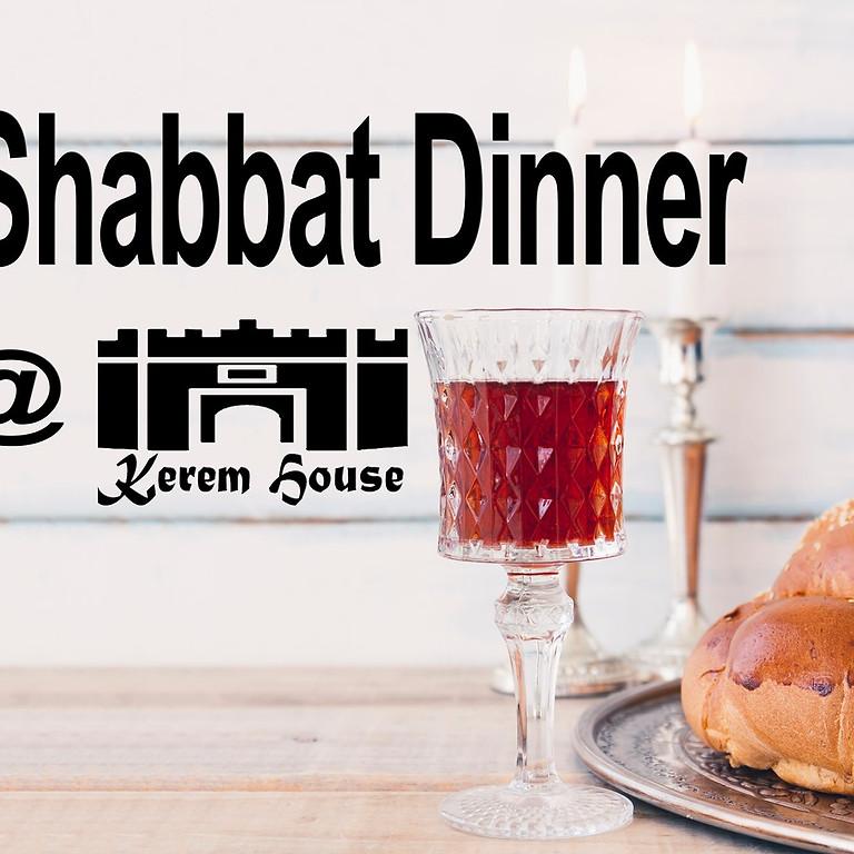 Shabbat Dinner 13.8.21