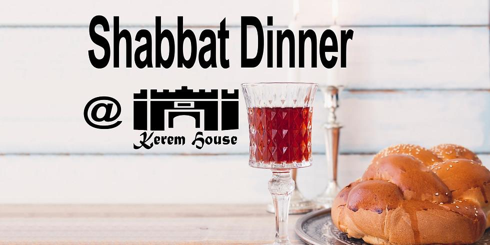 Shabbat Dinner 08.10.21