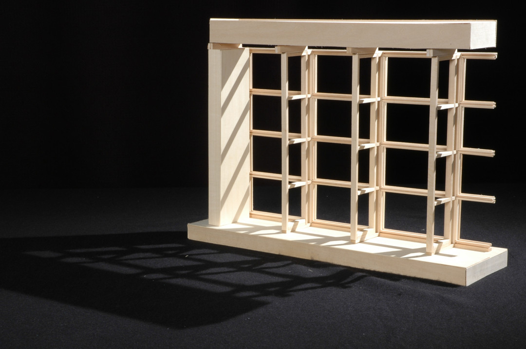 Architecture Curtain Wall Detail Model