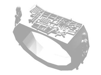 Jewelry Invisible City Ring