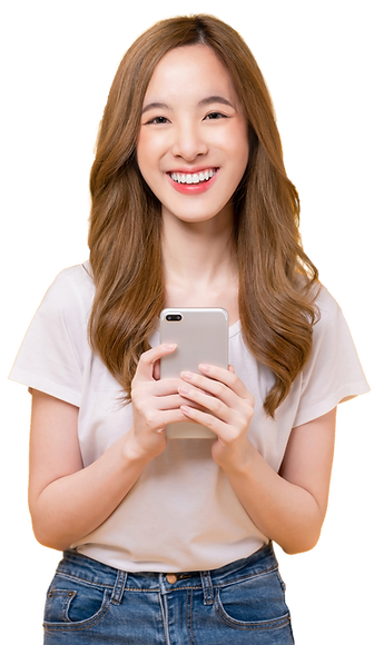 beautiful-asian-woman-holding-smartphone-smiling-with-typing-mobile-light-yellow-backgroun