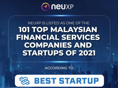NeuXP has been showcase as one of the Top Malaysian Financial Services Companies and Startups.