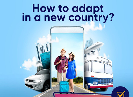 How to Adapt In a New Country