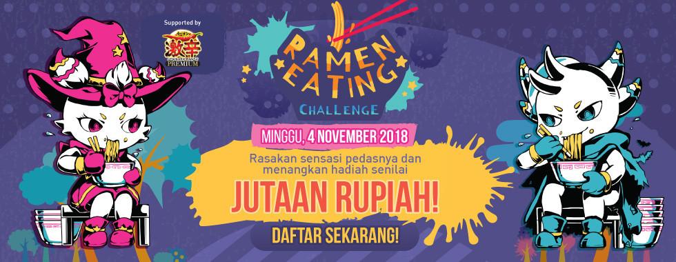 Daftar sekarang juga di MiniCF Ramen Eating Challenge!