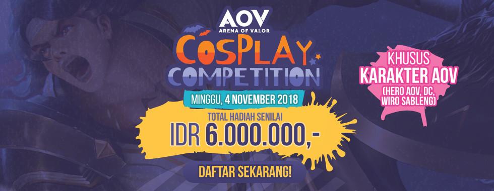 Daftar sekarang juga di AOV Cosplay Competition!