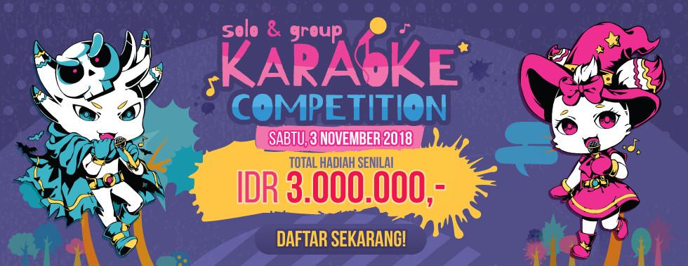 Daftar sekarang juga di MiniCF Karaoke Competition!