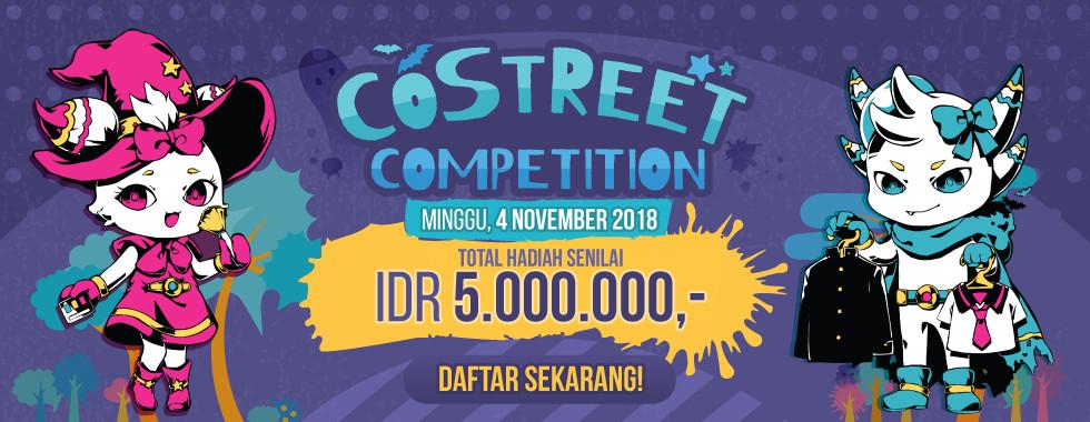 Daftar sekarang juga di MiniCF Costreet Competition!