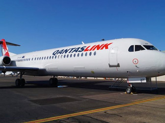 First Network Fokker 100 for FCA