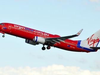 Last Virgin Blue Aircraft Enters Paintshop