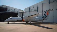 First Jetstar Q300 for FCA