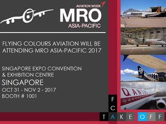 FCA to attend MRO Asia Pacific 2017