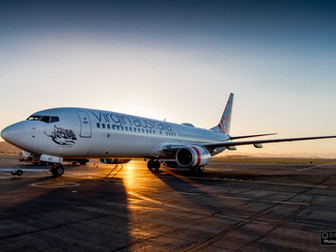 First of 24 Virgin Australia Boeing 737's Completed