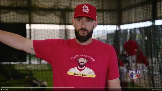 Pro Matt Carpenter, St. Louis Cardinal, MLB