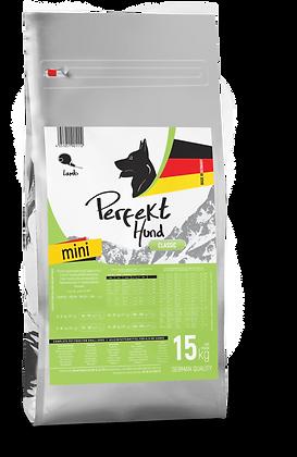 Perfekt Hund, Kuzulu Küçük Irk Köpek Maması 15 kg