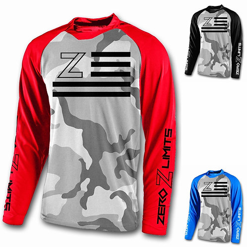 Snow Camo Youth Jersey