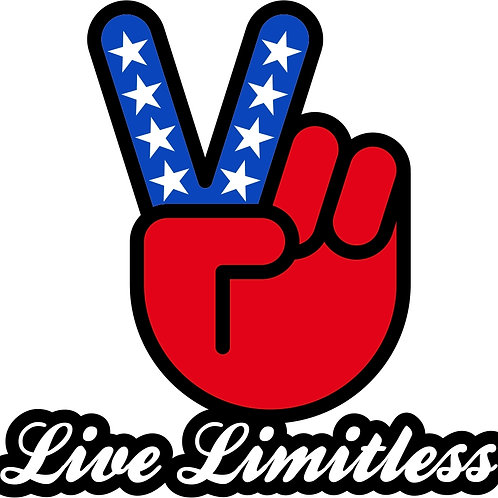 Liberty Live Limitless Sticker