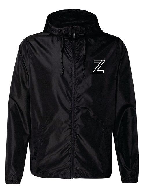 The Original - Zip Windbreaker Black