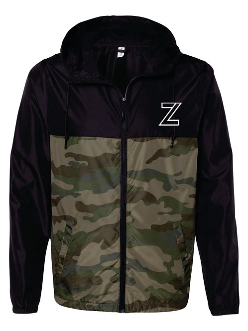 The Original - Youth Zip Windbreaker | Camo/Black