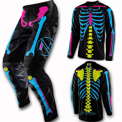 21 Skully Youth Jersey/Pant Combo