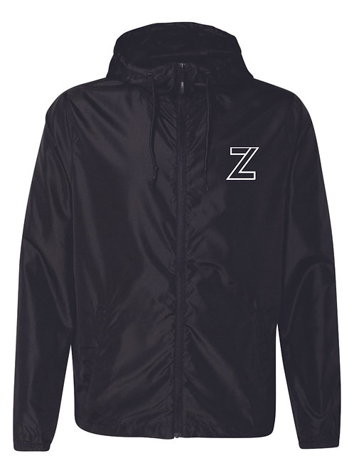 The Original - Youth Zip Windbreaker   Black