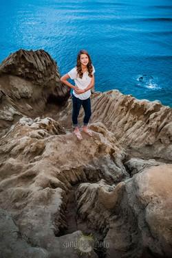 Sunset Cliffs Portrat