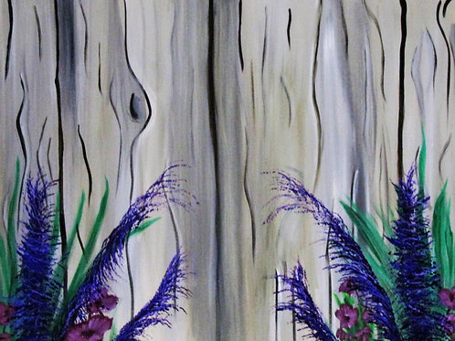 Wood Fence Decor, Art Gallery, United States, Art Sales