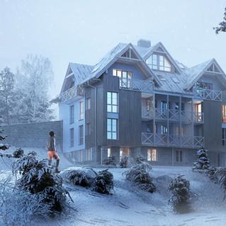 Mountain apartments