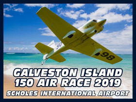 Galveston Island 150 Air Race on June 8